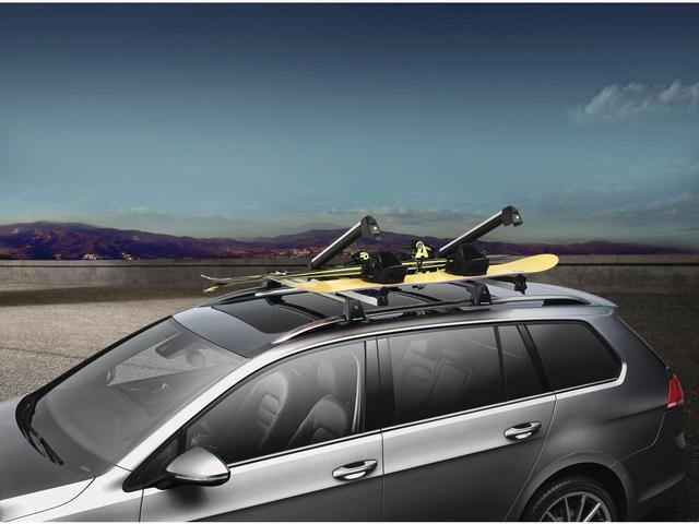 Kearny Mesa Vw >> 3B0071129G - Volkswagen Snowboard / Wakeboard / Ski Attachment - Silver. Racks, Rails, Racks ...